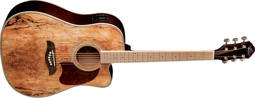 OG2CESM Oscar Schmidt Acoustic/Electric Dreadnought Spalted Maple
