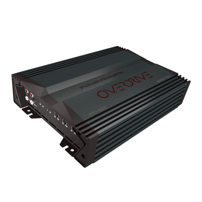 OW-OD1-1500 Power Acoustik Overdrive 1500W Mono Class A/B Amplifier With Bass Remote