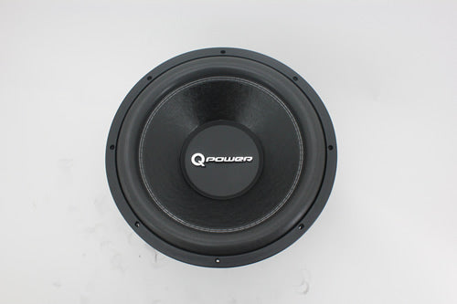 QP-DELUXEQP12 Q POWER 12in WOOFER DVC 80 oz MAGNET 1700 Watt
