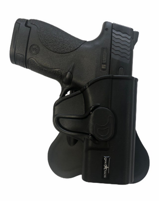 QR-1911  Auto 1911 up to a 5in Barrel Quick Release Polymer  Holster