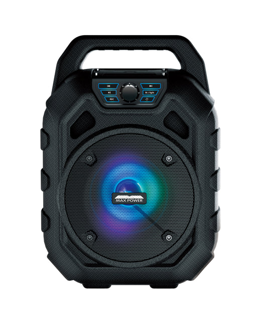 SPLASH-EXTREME Maxpower Bluetooth -FM Radio Water Proof & Rechargeable Portable Audio System