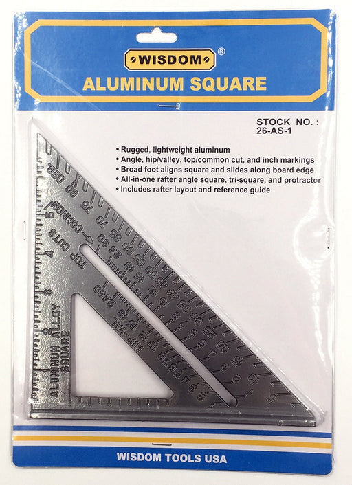 "TL677 6"" Aluminum Speed Square"