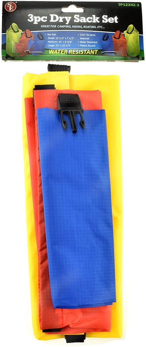 TP123NZ-3 3Pc Water Resistant Dry Sack Set