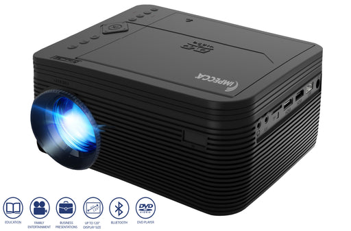 Impecca LED 1080p Theatre DVD Projector Model VP220K