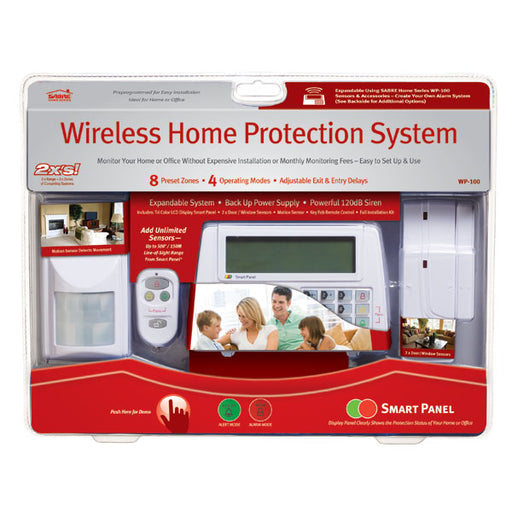 WP100 Sabre Wireless Home Alarm System