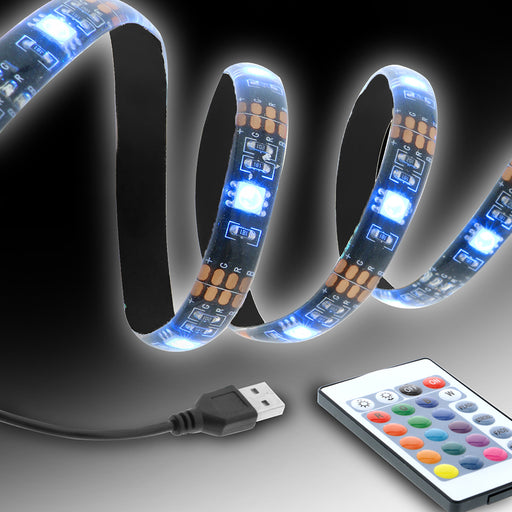 XT-XLB71022BLK Xtreme LED Strip 80inch 16 Colors Remote