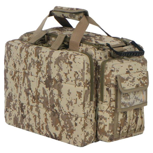 RTDC701-TAC  Tactical Padded Multi Pocket Range Bag Tan ACU
