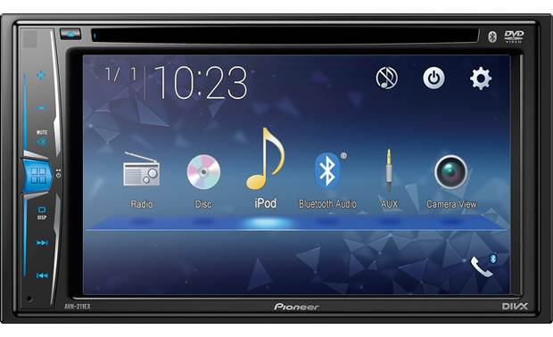 AVH-211EX  Pioneer Double Din  6.2 DVD BT Receiver
