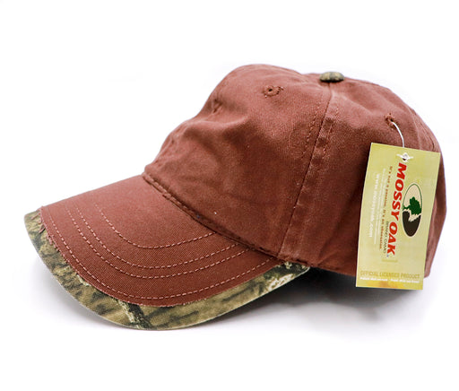GWTC-200-20718 6 Panel Outdoor Cap - Brown With Infinity Trim