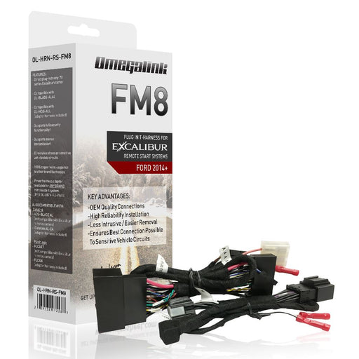OL-HRN-RS-FM8 Excalibur T- Harness Ford Vehicles