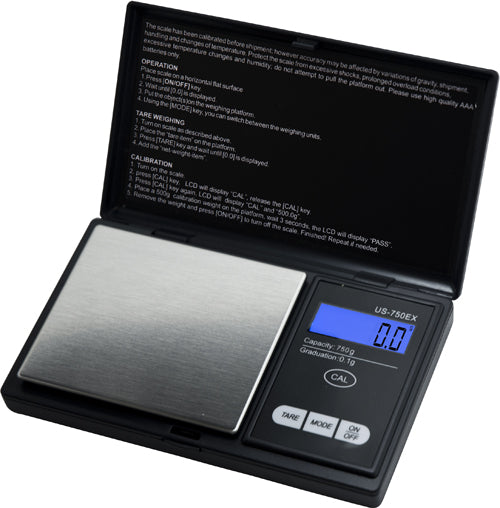 US-750EX US Balance EasyCal Scale 500g x 0.1g