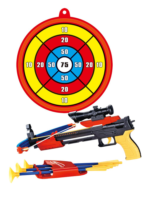 PS0968 Toy Crossbow & Arrow Set With Target