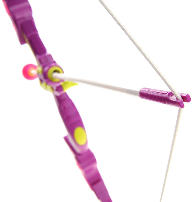 PS24B Toy Bow & Arrow Dart Set Pink