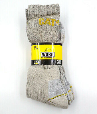CATSOCK-OM  Caterpillar Work Sock -3 Pack- Oatmeal Color