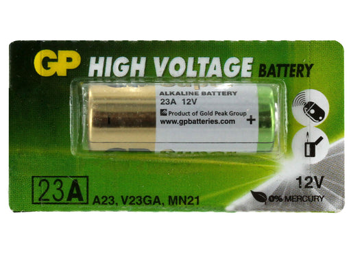 GP23 23A Alkaline Battery, Car Alarm Remote Sold Each