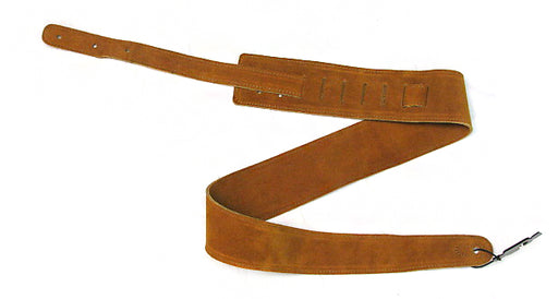 "FB400TO Fort Bryan 2.5"" Toast Suede Guitar Strap"