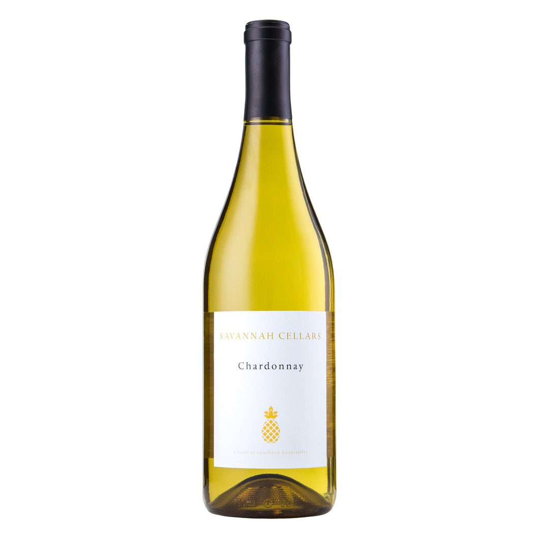 Savannah Cellars, 2016 Chardonnay, Mendocino County, CA