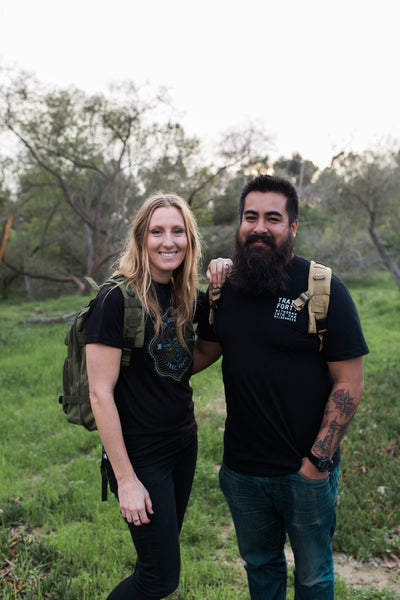 Gilbert and Britnee Gonzalez of TRAIL FORTY
