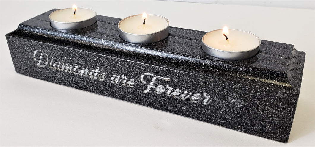 Diamonds Are Forever Candle Holder