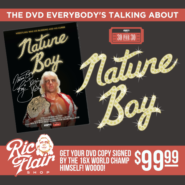 Autographed ESPN 30 for 30: Nature Boy DVD