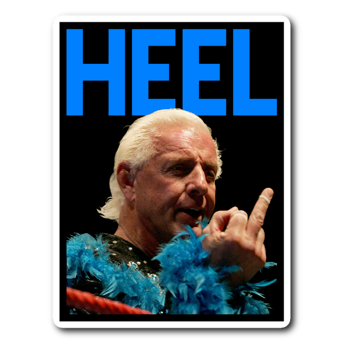 HEEL Sticker