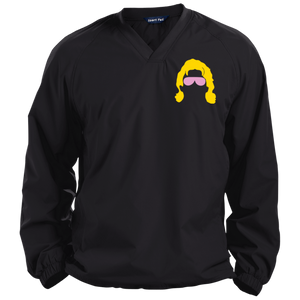 Flair Silhouette Pullover V-Neck Windshirt