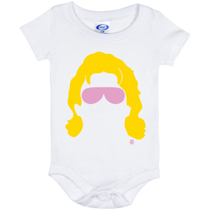 Flair Silhouette Baby Onesie 6 Month