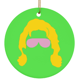 Ric Flair Silhouette Ornament