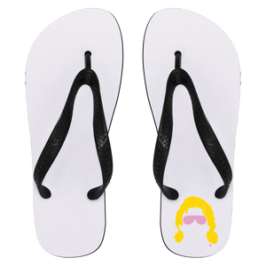 Flair Silhouette Flip Flops - Small