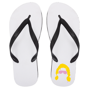 Flair Silhouette Flip Flops - Large