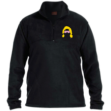 Flair Silhouette 1/4 Zip Fleece Pullover