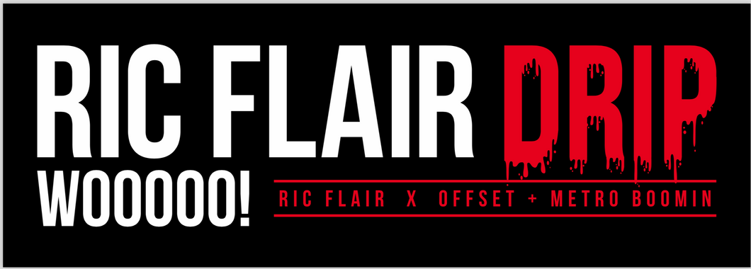 Ric Flair Drip Bumper Sticker
