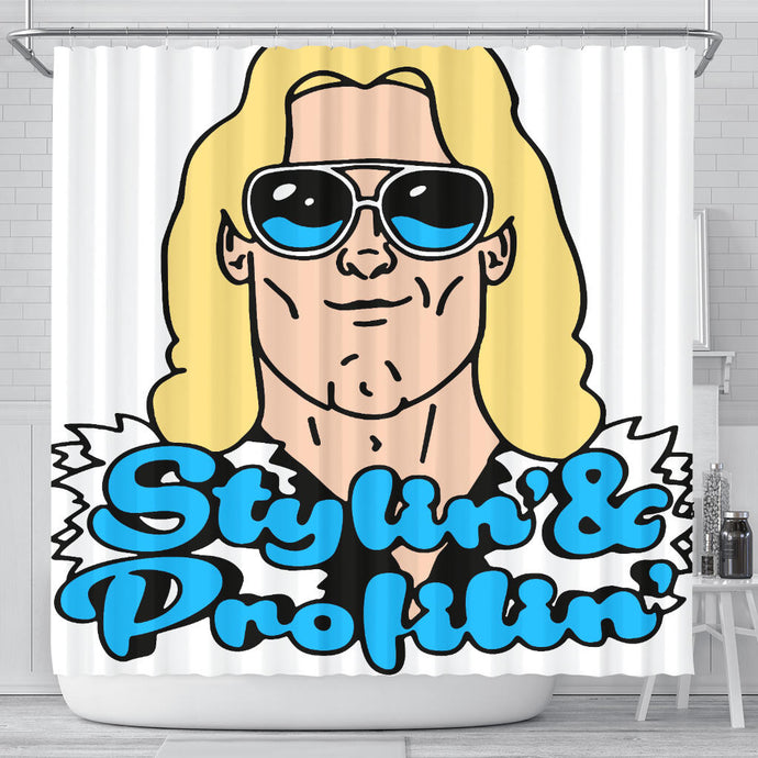 Stylin' and Profilin' Shower Curtain