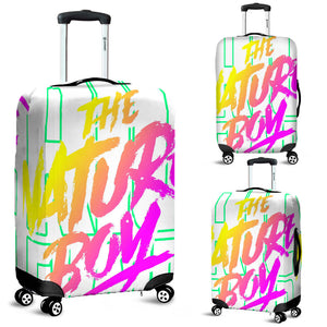 Neon Luggage Cover