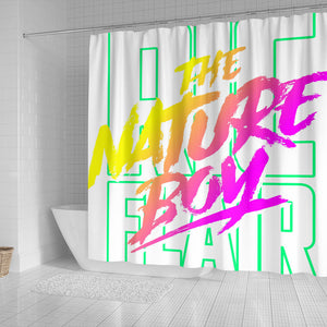 Neon Shower Curtain