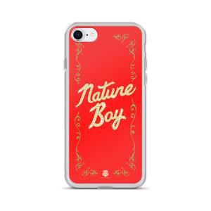 Nature Boy Red iPhone Case