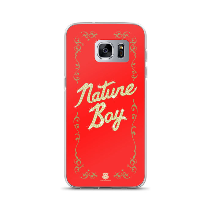 Nature Boy Samsung Case (Red)