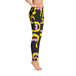 Ric Flair Silhouette Leggings