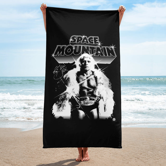 Space Mountain Beach Towel
