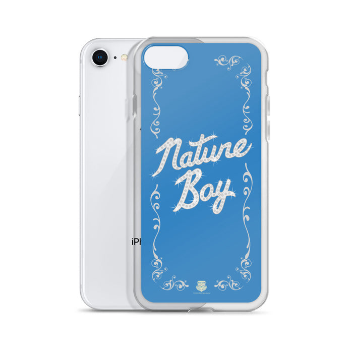 Nature Boy Blue iPhone Case