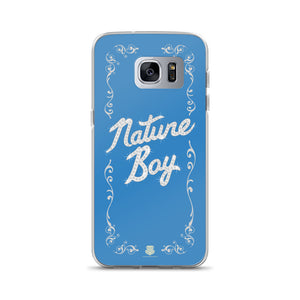 Nature Boy Samsung Case (Blue)