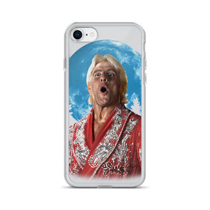 Wooo! At the moon iPhone Case
