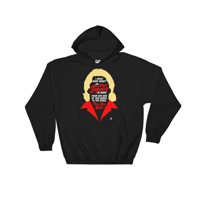 Spilt Liquor Hooded Sweatshirt