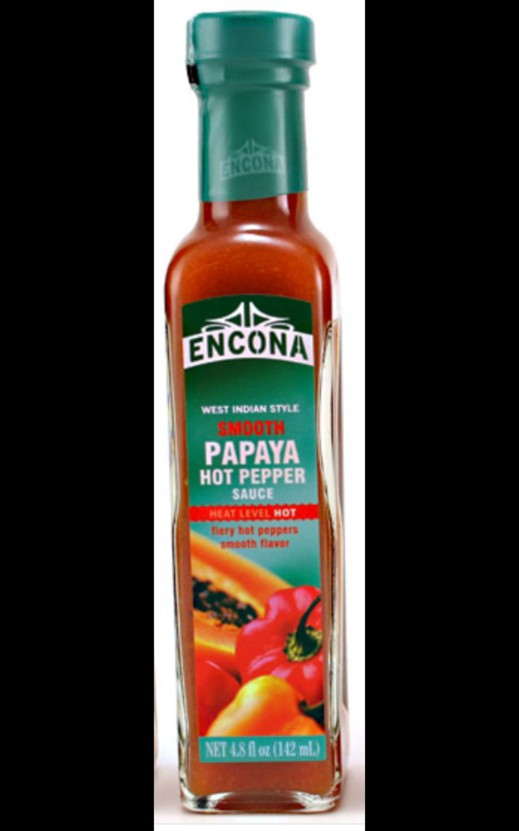 Encona Smooth Papaya Hot Pepper Sauce - Evansfoods