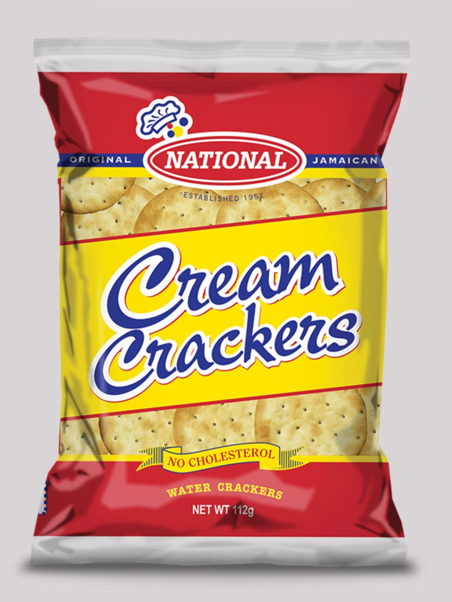 National  Cream Crackers Pack of (2) - Evansfoods