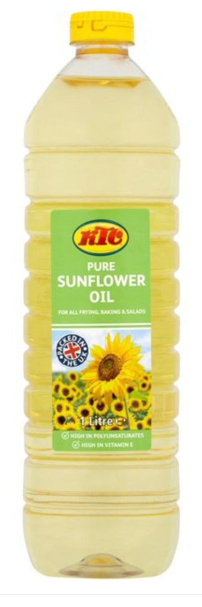 KTC Sunflower Oil - Evansfoods