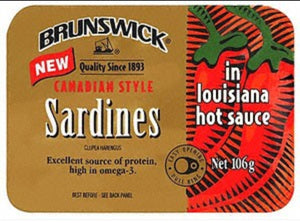 Brunswick Sardines In Louisiana Hot Sauce - Evansfoods