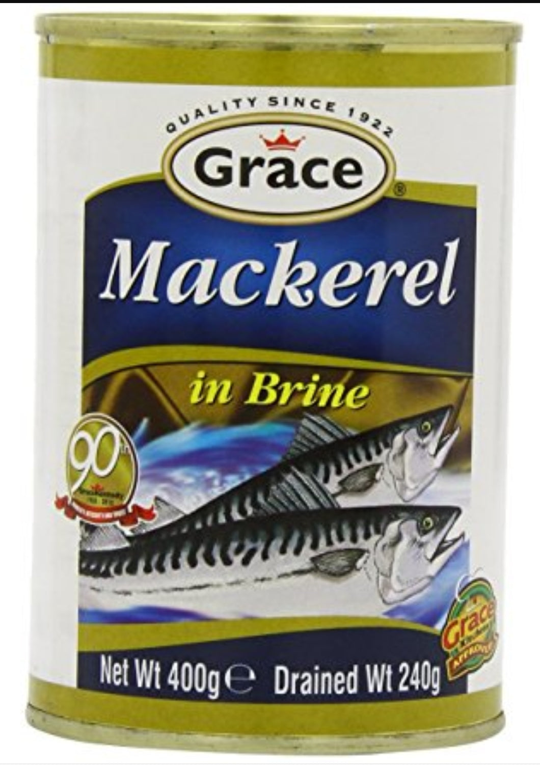 Grace Mackeral In Brine - Evansfoods