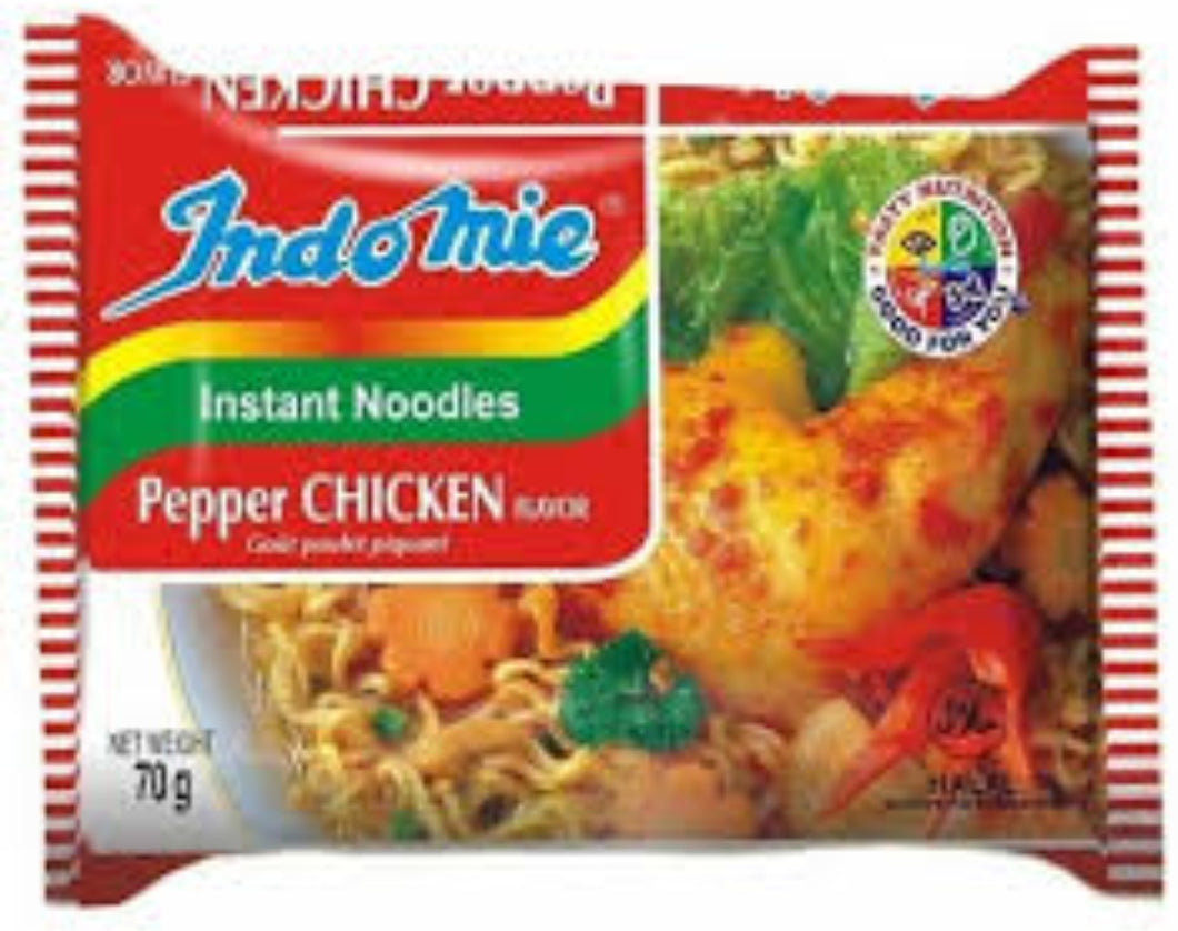 Indomie Instant Pepper Chicken Noodles Pack of 10 - Evansfoods