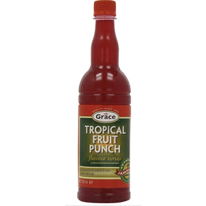 Grace Tropical Fruit Punch Syrup - Evansfoods